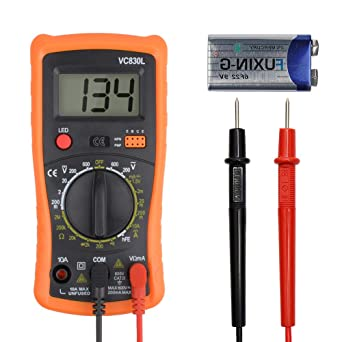 High Quality LCD Digital Multimeter DC//AC Voltage Current Meter Ammeter Tester