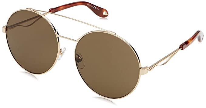 2e1d2467e38 Sunglasses Givenchy Gv 7048  S 0J5G Gold   70 brown lens at Amazon ...