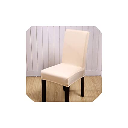Amazon.com: pleasantlyday Black Chair Cover Stretch Chair Covers ...