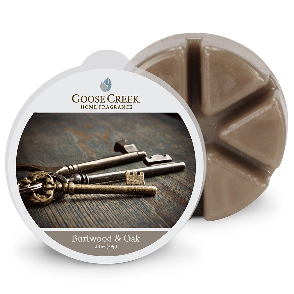 Goose Creek Burlwood and Oak Wax Melt Pack, Brown EW355