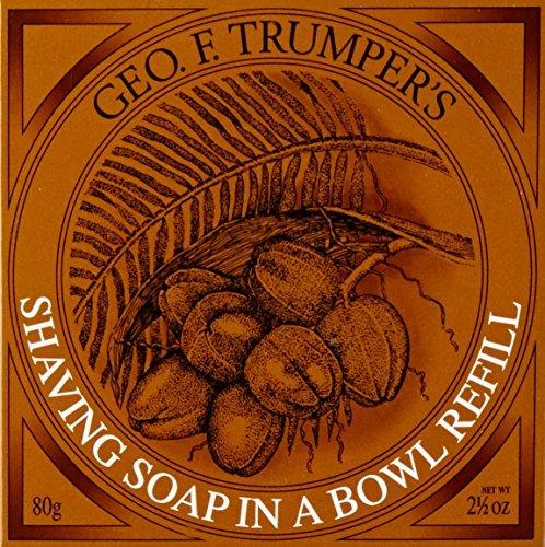 (Geo F. Trumper's Coconut Oil Hard Shaving Soap Refill by Geo F. Trumper)