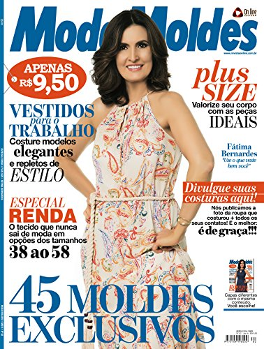 Moda Moldes -Ed.82 (Portuguese Edition) by [On Line Editora]