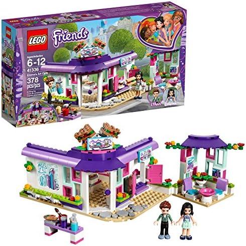 LEGO Friends Emma\u2019s Art Cafe 41336 Building Set (378 Pieces)