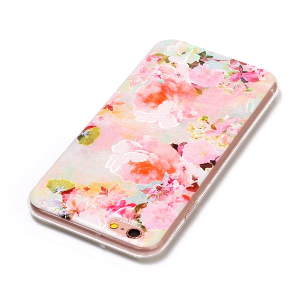 Iphone SE Phone Case Cover Iphone 5 5S Case Metter Embossed Blue Butterfly Pattern Ultra Light Soft Jelly Clear Gel TPU Silicone Shockproof Phone Case Protective Back Cover for iphone