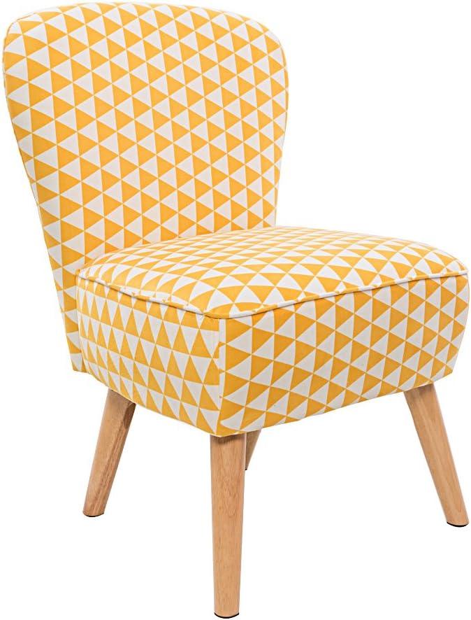 Panana moderno tessuto di lino poltrona divano sedie per soggiorno salotto ufficio colore giallo + bianco