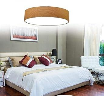 Création Scandinave LED Plafonniers Tissu Géométrique Simple Moderne Salon  Chambre à Coucher Plafond Lumineux (Style