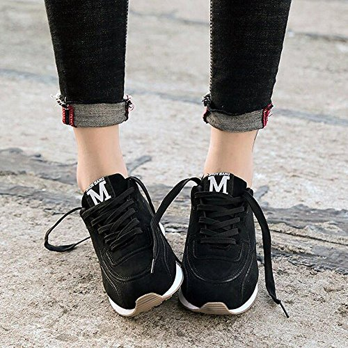 Rosegal Fitness Chaussure Femme Noir Mode Sneakers Basket Air Athlétique Course Basses Gym qIqRBrwt