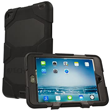 the best attitude 8819a f8500 TECHGEAR G-SHOCK Case fits Apple iPad Mini 4 - Tough Rugged Heavy Duty  Armour Shock Proof Long Survival Protective Case with Detachable Stand -  Kids ...