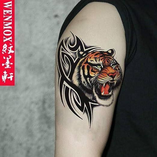 Tótem de cabeza de lobo guapo tendencia tatuaje pegatinas ...
