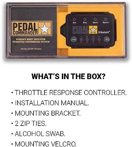 Fits All Trim Levels; SE, SLT, Limited Pedal Commander Throttle Response Controller PC30 Bluetooth for Dodge Durango 2006-2010
