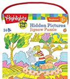 MasterPieces Highlights Hive Five Hidden Pictures Jigsaw Puzzle, 24-Piece