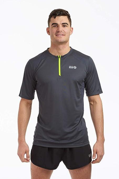 Pacer 12 Zip Running maglia running a maniche lunghe uomo