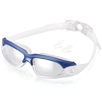 c8c98f130b6 Naga Sports Torpedo Swimming Goggles - Anti Fog Anti Shatter Leakproof  Waterproof with UV Protection for