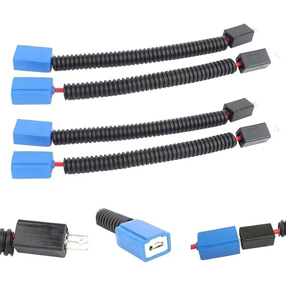 Arn/és de cableado del z/ócalo 9006 Cable de extensi/ón hembra Arn/és de cableado Conector hembra de tubo flexible