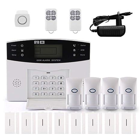 Moliies Sistema de Alarma de Seguridad antirrobo de Inicio ...
