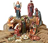 Large Christmas Nativity Set of 11 Figures