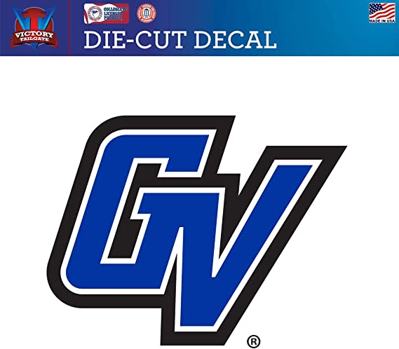 Grand Valley State University Lakers GV Car Decal