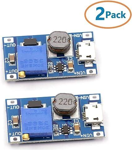 DC//DC Converter Regulator Step up /& Step down 2 in 1 5V 12V 24V Adjustable