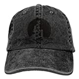 Have You Shop The Little Mermaid Trend Printing Cowboy Hat Fashion Baseball Cap for Men and Women Black Black