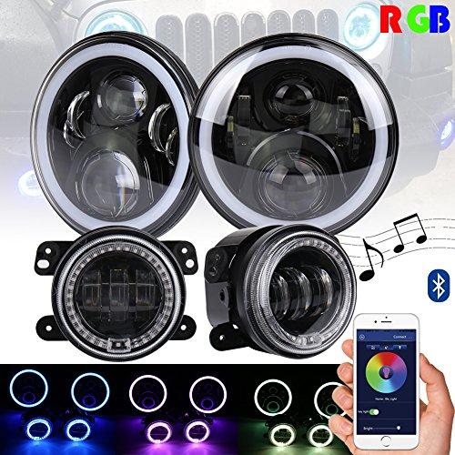 7 color fog lights with remote - 6