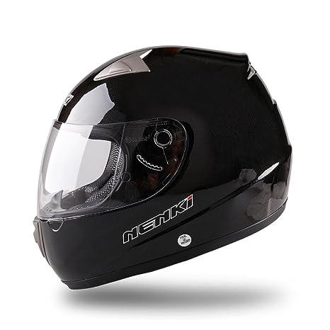 NENKI Casco Moto Integral NK-820, Aprobado ECE