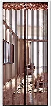 Mosquitera magnética para puerta, con marco completo, de velcro, cortina de red pesada, sin taladrar, puerta de balcón, red francesa, puerta corredera, barco, garaje: Amazon.es: Bricolaje y herramientas