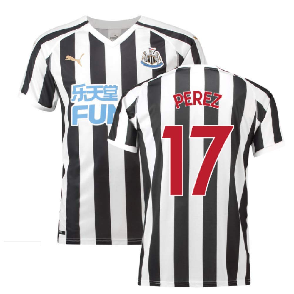 2018-2019 Newcastle Home Football Soccer T-Shirt Trikot (Ayoze Perez 17)