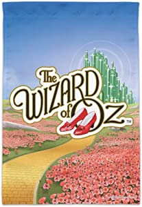 GRAPHICS & MORE The Wizard of Oz Ruby Slippers Logo Garden Yard Flag