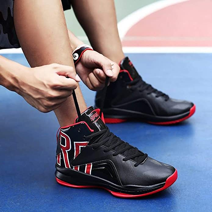 822d7752e2 Zapatos de Baloncesto Antideslizantes para Hombres Wafalano Senderismo