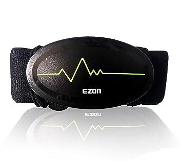 likeblue Monitor de frecuencia cardiaca Bluetooth 4.0 Correa ...