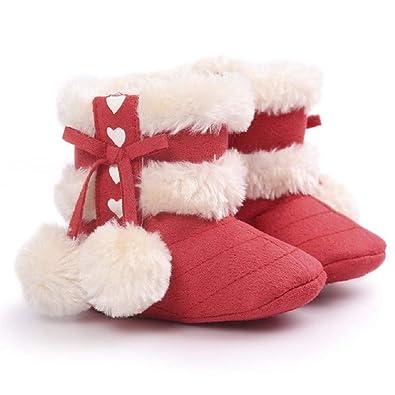 Primeros Pasos Zapatos con Pelota Botas Bebé Unisex de Nieve de ...