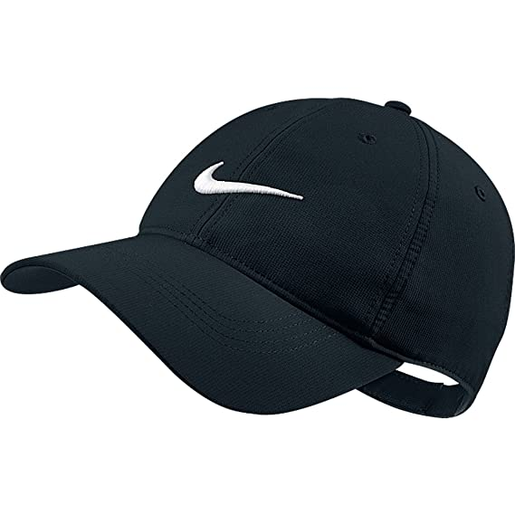 6ae72f8f Amazon.com: Nike Tech Swoosh Cap, Black/White, One Size: Clothing