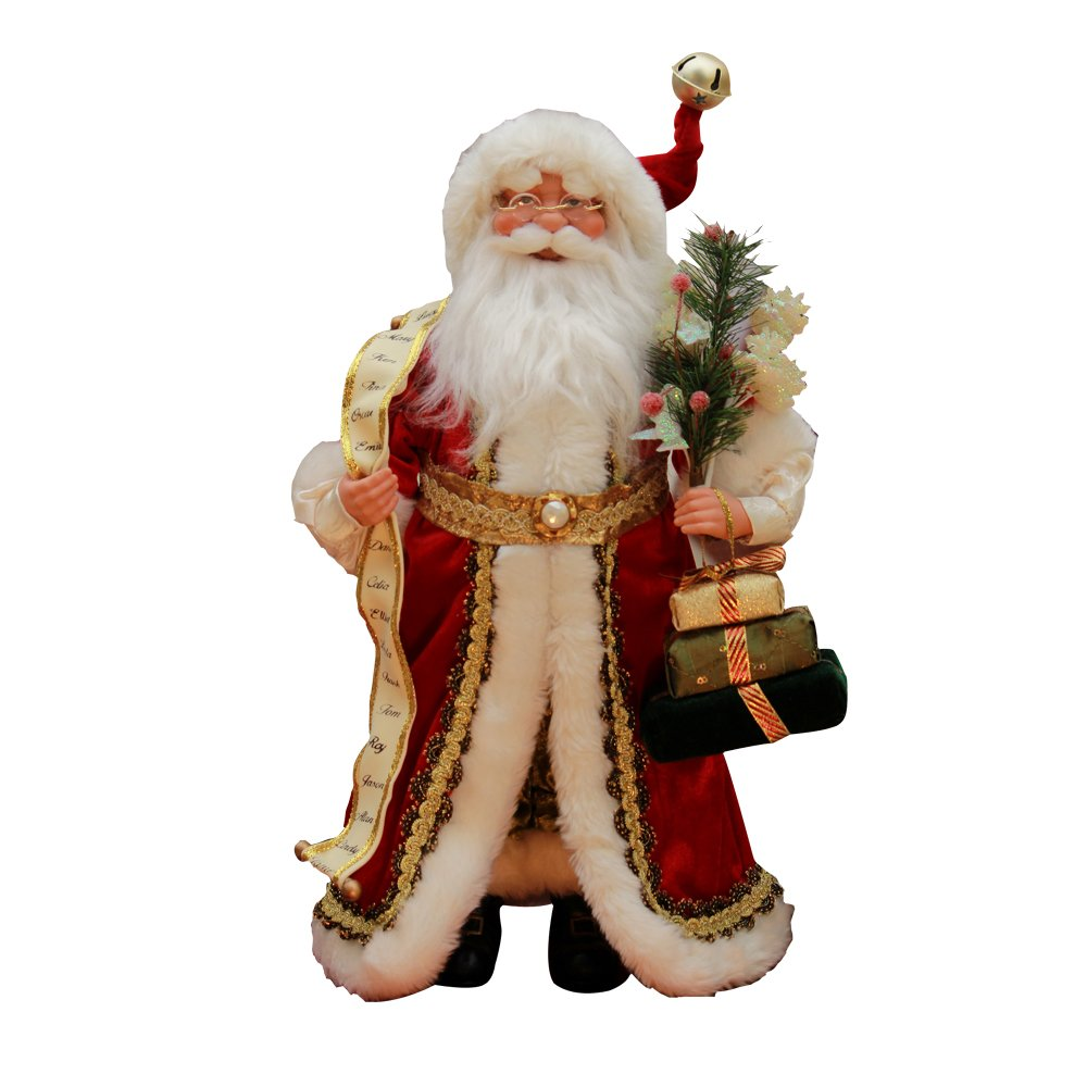 Windy Hill Collection 16'' Inch Standing Naughty or Nice Name List Santa Claus Christmas Figurine Figure Decoration 41603 by Windy Hill Collection