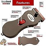 Werxrite RetraGuard Razor Blade Scraper Tool - Stovetop Cooktop Glass Ceramic Metal Scraper - Sticker Glue Paint Adhesive Decal Scraper + 10 Replacement Scraper Blades - USA Made