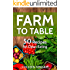 Farm To Table: 50 Recipes for Clean Eating (Clean Diet Cookbook)