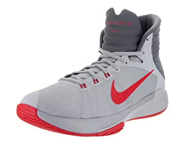brand new 89692 91ad1 NIKE Men s Prime Hype DF 2016, Wolf Grey University Red, ...