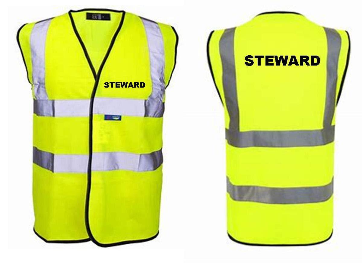 STEWARD HI VIS VEST XL