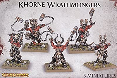 Warhammer Khorne Wrathmongers from Games Workshop