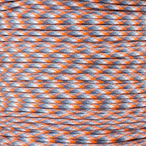 Paracord Planet 550 Cord Type Iii 7 Strand Paracord 250 Foot Spool   Ion Storm