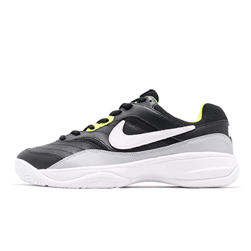sneakers for cheap 87af6 66db6 Nike Mens Court Lite Black Tennis Shoes (UK-6)