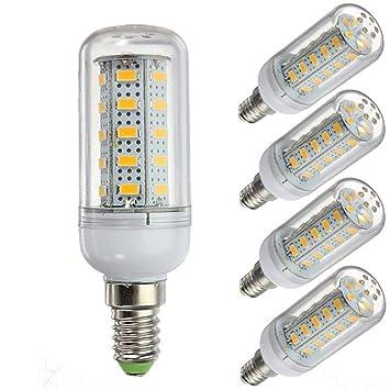 WELSUN Bombilla LED de 12 voltios 6 vatios, Bombilla G9 / E12 /E14 / E27 Bombilla 12v de ...