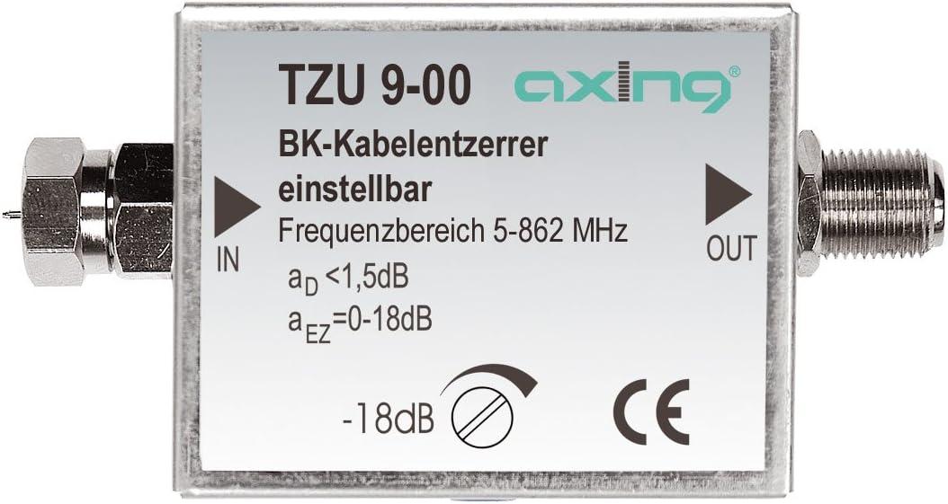 47-2400 MHz Axing SZU 8-00 Breitband-Entzerrer