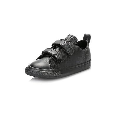 Converse Chuck Taylor All Star 2V Infant Black Leather 4 UK Child   Amazon.co.uk  Books 85ed6df76