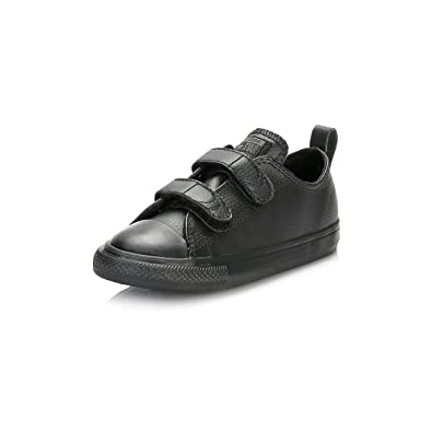 023b066b7d4c Converse Chuck Taylor All Star 2V Infant Black Leather 4 UK Child   Amazon.co.uk  Books