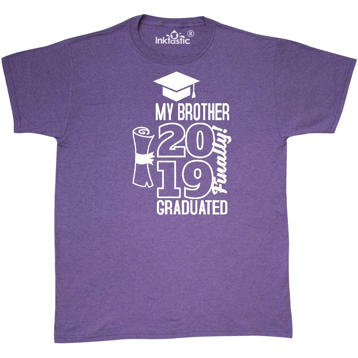 Inktastic My Brother Graduated Finally 35deb Shirts