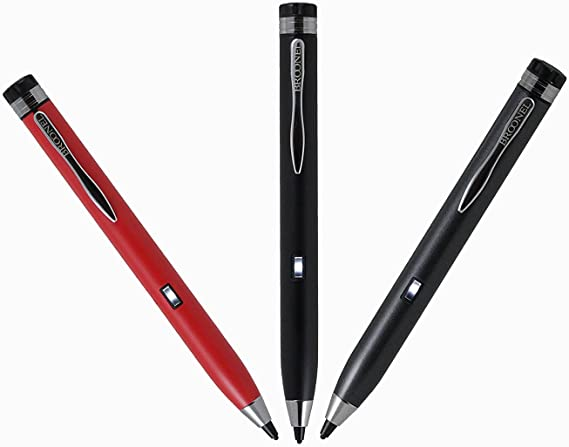 Broonel Grey Fine Point Digital Active Stylus Pen Compatible with The Samsung Galazy Tab S6 LTE 10.5