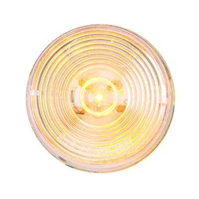 GG Grand General 76431 Amber/Clear 2 Inches 1 LED Marker Sealed Light: Automotive