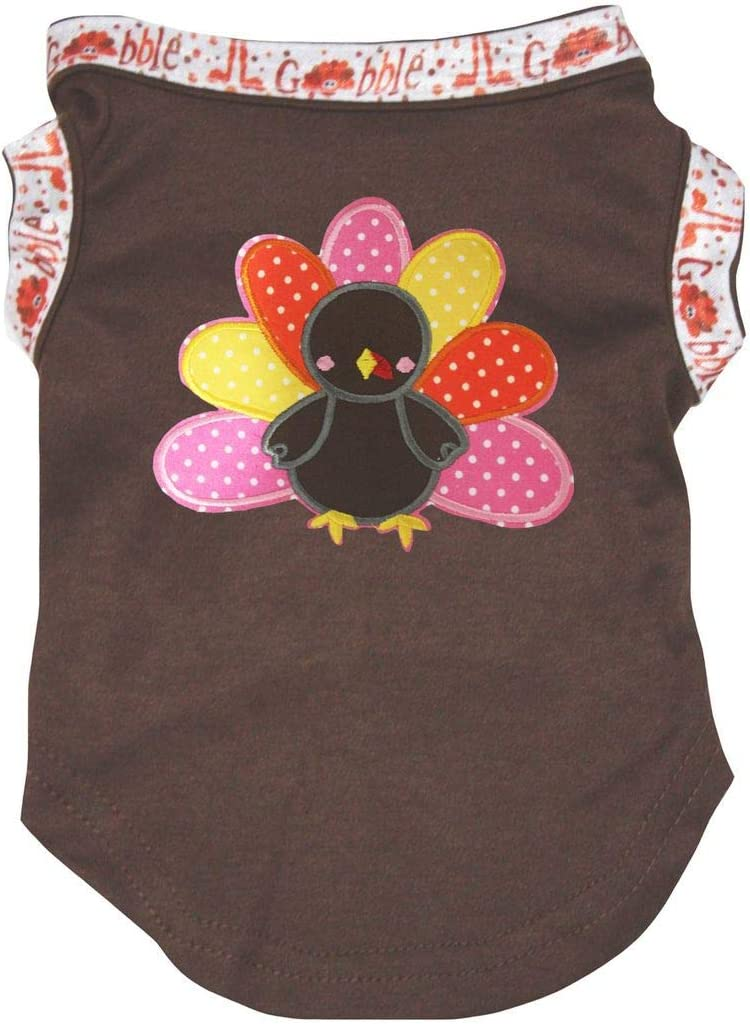 Petitebella Rainbow Turkey Shirt Puppy Dog Clothes