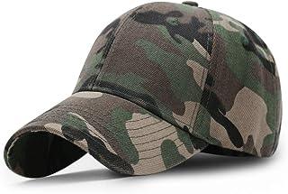 ZhangHongJ,Casquette de Baseball Camouflage + réglable, Tour de tête 56-60 cm(Color:ARMÉE Verte)