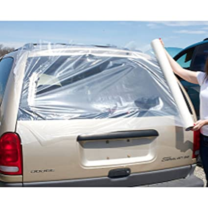Amazon com: Wreck Wrap Self Adhering Collision Film - 4 mil